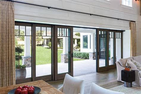 open  home   outdoors   movable glass wall