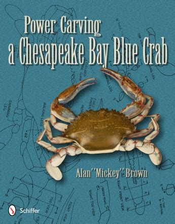 power carving  chesapeake bay blue crab woodworking