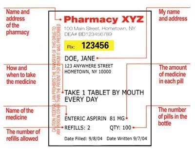 Printable Rx Labels Printable Funny Prescription Labels Projects To Try Prescription Medication Label Template