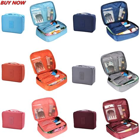 Pouch Travel Pouch Polyester Mesh Size L 1 6pcs set fashion zipper waterproof polyester and luggage travel bags packing