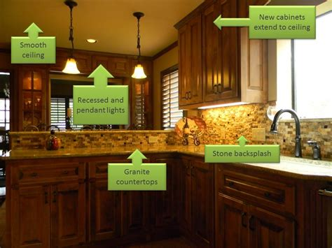 updated kitchens ideas elements of an updated kitchen remodel san antonio