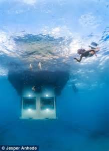 Swedish Bedroom new underwater room unveiled off remote african island