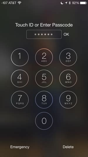 apple steps up security with two factor and 6 digit passcodes in ios 9 macworld
