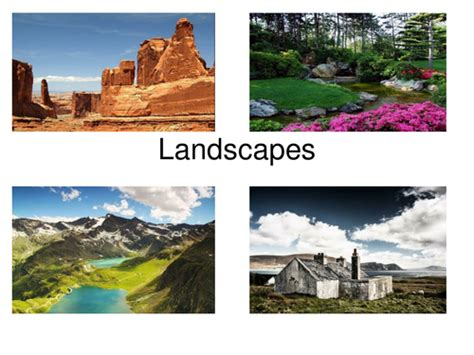 Landscape Lesson Powerpoint 37 Fabulous Landscapes For Creative Writing And Literacy