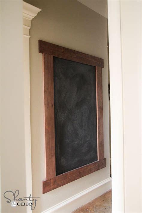 diy chalkboard wall frame diy framed chalkboard wall chalkboard wall