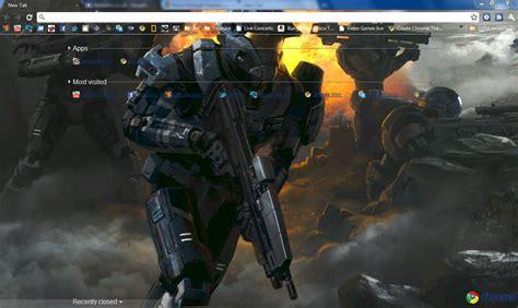 google themes halo halo reach firefight chrome theme by bobofawesome on