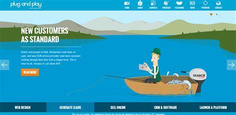 Flat Layout Design 20 Distinctive Navigation Menu Designs Sitepoint