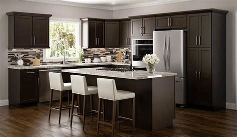 benefits youll   espresso colored cabinets