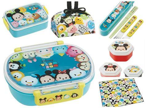 Tas Anak Tsum Tsum Lunch Box 2 4 Tahun 2181ll disney tsum tsum lunch cross bento lunch box bag spoon fork japan made new