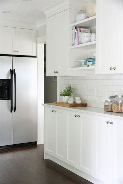 cloud white kitchen cabinets home depot subway tile transitional kitchen benjamin