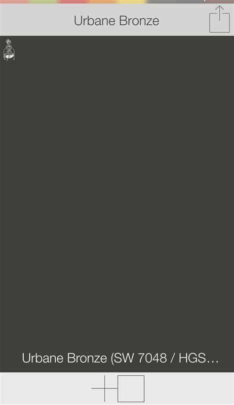 front door colors urbane bronze sw 7048 sherwin williams paints swatchdeck app