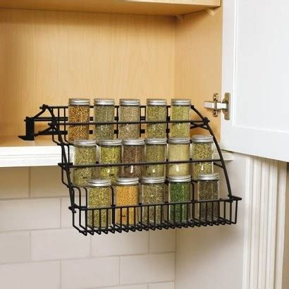 spice organizers for kitchen cabinets rubbermaid pull cabinet spice rack contemporary