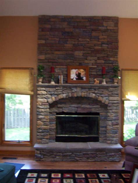 trend cladding fireplace ideas 5525
