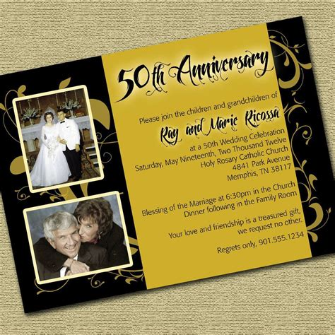 Wedding Anniversary Letter by Invitation For Wedding Anniversary Invitation Letter For