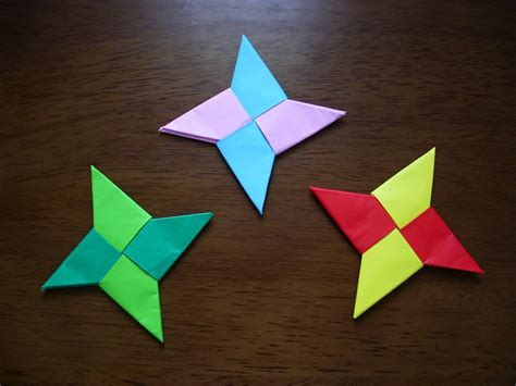 cool paper crafts katakoto origami how to make origami syuriken
