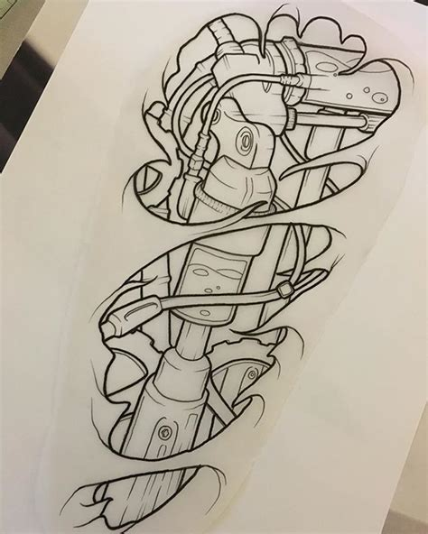 biomechanical tattoo flash az tattoo designs