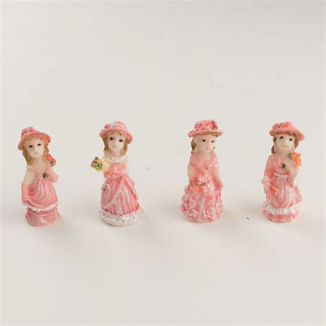cute figurines cute tiny quinceanera princess figurine statue 24pcs ebay