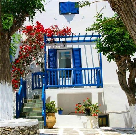 greek backyard designs estilo griego decoracion espaciohogar com