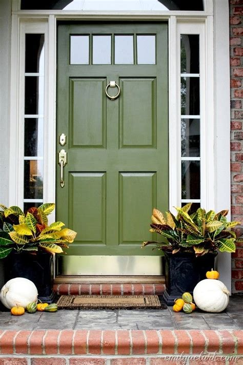 Green Exterior Door 17 Best Ideas About Green Front Doors On Front Door Colours Front Door Molding And