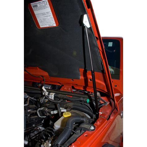 jeep cj hood rugged ridge 11252 50 hood lift kit 72 06 jeep cj and