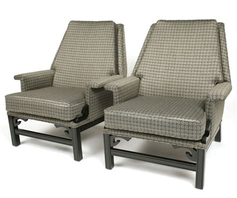 decorative recliners 1950 s decorative parlor chairs red modern furniture