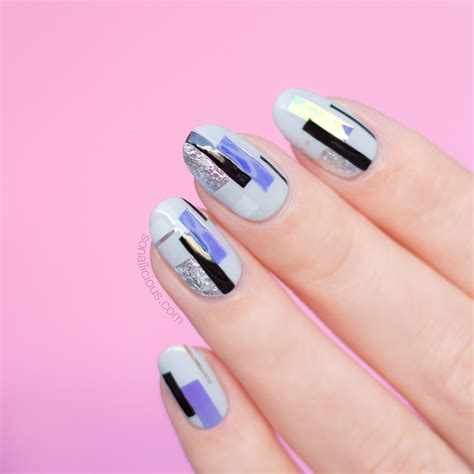 Nail Foil For Nail Ghl06 flakes nail foil 4 colours back in stock