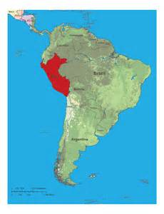 map of south america peru map lima peru south america