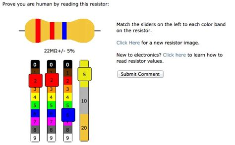 resistor color code mnemonic agile complexification inverter july 2011