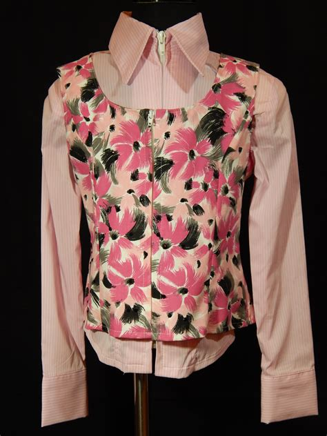 Dress Casual Custom Keren Motif Floral Limited Edtion mkc youth show vest pink black white gray floral