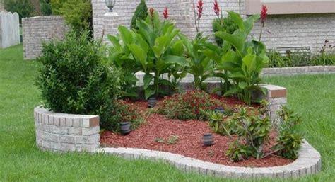 decorar jardines con ladrillos decoracion de jardines con ladrillos