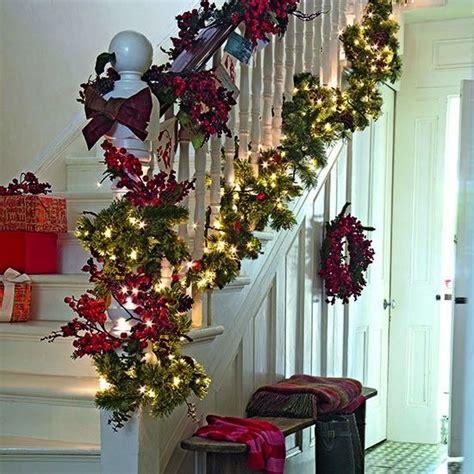 winter hallway decorations seasonal garland 10 best hallway ideas hallway photo gallery ideal home