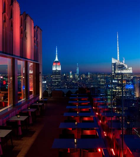 top of rockefeller center bar best rooftop bars in nyc for this summer new york design