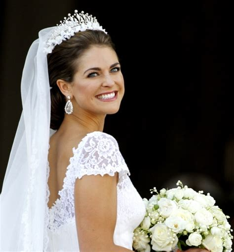 Prinzessin Madeleine Hochzeitsfrisur by Princess Madeleine Of Sweden S Low Braided Bun With