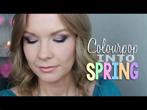 spring tutorial youtube kaushik colourpop into spring tutorial collab with alovetart