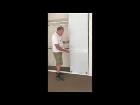 adjust wardrobe sliding doors youtube