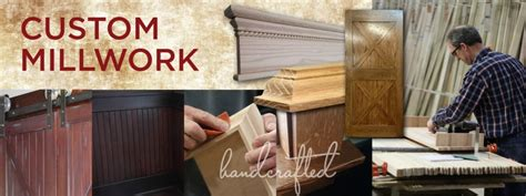 Handcrafted Millworks - custom millwork badger corrugating company