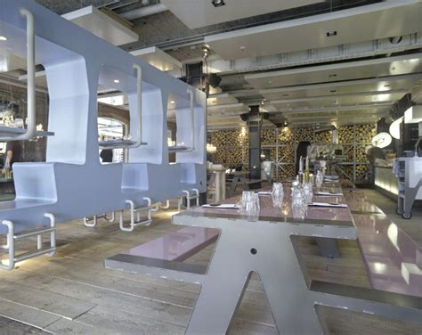 fabbrica restaurant  romantic canteen idesignarch interior design architecture