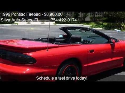 auto manual repair 1996 pontiac firebird free book repair manuals 1996 pontiac firebird formula convertible for sale in pomp youtube