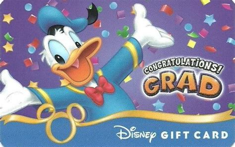 Disney World Gift Cards At Kroger - congratz grad from donald scented