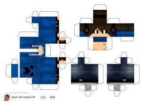Minecraft Skin Papercraft Generator - minecraft