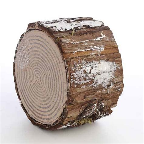Decorative Tree Stumps by Decorative Artificial Winter Tree Stump And
