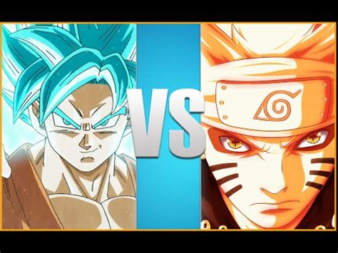 film naruto vs goku goku vs naruto full battle animation youtube