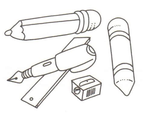 Imagenes De Utiles Escolares En Caricatura Para Colorear | dibujos de 250 tiles escolares para pintar colorear im 225 genes