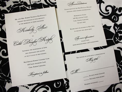 Foil Sted Wedding Cards