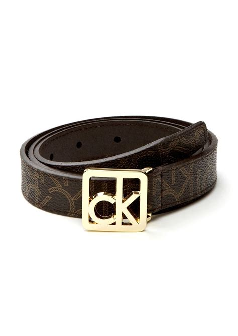 calvin klein belt with logo buckle jewelry and