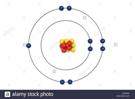 bohr diagram  fluorine