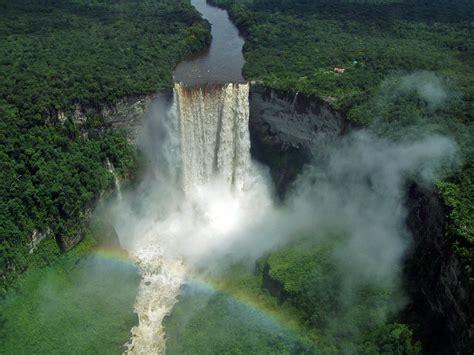 A Place Falls Waterfalls Of Guyana The List Wondermondo