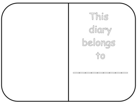 diary template by white lilly2 uk teaching resources tes