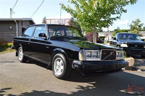 volvo  glt turbo coupe restored  reserve  black