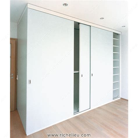 Mounting Cabinet Doors Richelieu 8913233 System For Sliding Cabinet Doors With Flush Mounting Hawa 220 Planfront